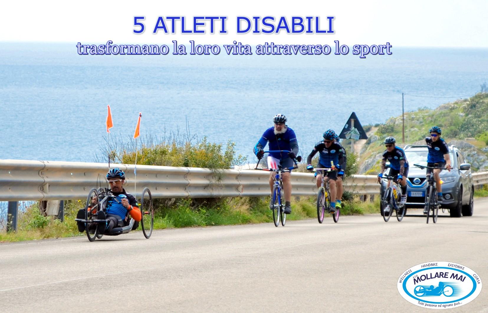 5 atleti disabili trasformano la loro vita attraverso lo sport